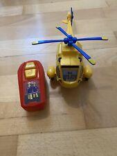 TOP: kleiner FEUERWEHRMANN SAM Hubschrauber mit Fernbedienung (zum Fahren)