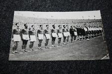 photo Originale )) équipe de France Octobre 1954 contre l'Allemagne