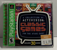 Activision Classic Games For The Atari 2600 CIB Sony Playstation 1 PS1 Tested