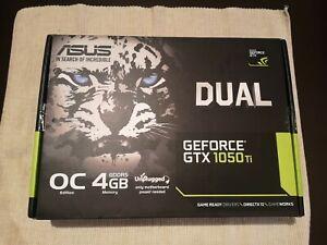 ASUS GEFORCE GTX 1050 Ti OC Dual 4GB