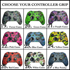 Protective Performance Rubber Skin Case Cover Grips For Xbox One Controllers