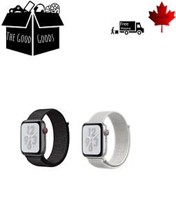 Sports Loop Band For Apple Watch Nylon Woven Strap For iWatch Series 5 4 3 2 1