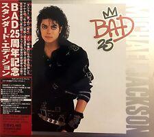 Michael Jackson 2xCD Bad 25 - Japan (M/M - Scellé / Sealed)