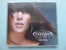 Titiyo 'Come Along' CD (2001) Rare Sleeve Design Collectable