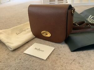 mulberry small darley satchel oak - With Receipt