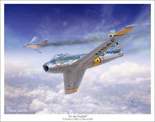 """F-86 Sabre Aviation Art Print - 11"""" x 14"""""""