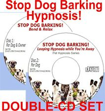 Dog Bark Too Much? Dog Hypnotherapy Audio CD - Puppy Training Toilet Anxiety etc