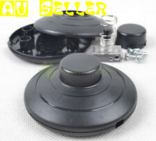 2 pcs Black Foot Pedal Push Switch Inline Lamp LED Light On-off Control Lighting