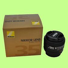 Brand New Nikon AF Nikkor 35mm f/2D Compact Wide-angle Lens