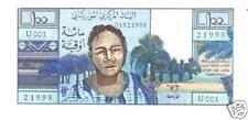 Mauritanie Mauritania 100 Ouguiya 1973 P1 UNC NEUF