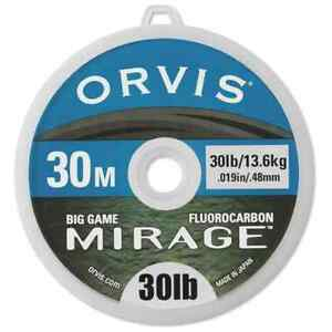 Orvis Fluorocarbon Mirage Big Game Tippet NEW FREE SHIPPING