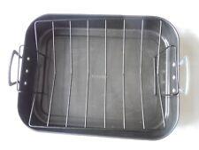 ONEIDA Turkey Roaster Pan Non Stick Bakeware Roasting Rack Handle