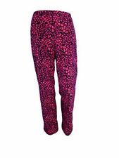 Animal Print Fleece Pyjama Bottoms for Women