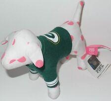 Victoria's Secret NFL Pink Dog GREEN BAY PACKERS Plush Mini Dog Pup Puppy Shirt
