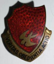 """WW2 46 Field Artillery Battalion Unit Crest D.I. -German Made- Assman """"A-708"""" PB"""
