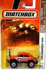 2008 Matchbox #91 ALL TERRAIN VW Volkswagen Beetle 4x4