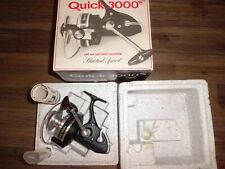 Vintage DAM Quick 3000 Champion Spinning Reel w/ Complete Box & Contents