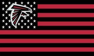 NFL Atlanta Falcons 3x5 Flag FAST FREE SHIPPING