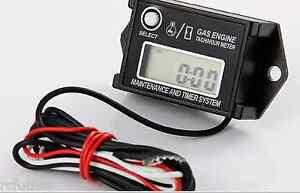 Waterproof Digital Tachometer / Hour Meter for PWC Watercraft Like Tiny Tach met