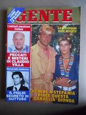 GENTE n°9 1987 Stephanie di Monaco Claudio Villa Rocco Barocco  [LOT1Q]