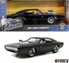 Fast & Furious DOM'S DODGE CHARGER R/T Die Cast 1/24 Jada Toys 97059 Nuovo