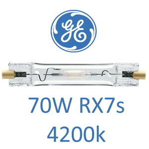 GE 38698 CMH RX7s 70w Double Ended Metal Halide Bulb Lamp 4200k cool white