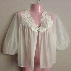 vintage Pink polyester jammies vanity fair nightshirt Vintage Pajamas nylon and lace | vintage pajamas 60s pink bed jacket