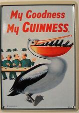 Guinness Pelican Mini Tin Sign