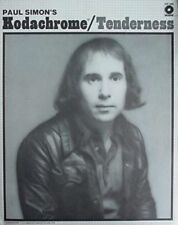 PAUL SIMON'S KODACHROME/TENDERNESS SHEET MUSIC-PIANO/VOCAL/GUITAR/CHORDS-NEW!!