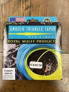 Wulff Ambush Clear Tip Triangle Taper Intermediate Fly Line - TTAM8FI 290 Grains