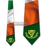 Ireland Forever Tie Men's Irish Flag Neck Ties St Patricks Necktie Brand New