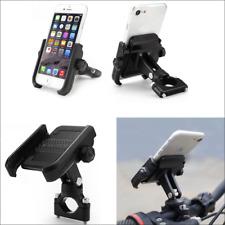 Metal Bike Bicycle ATV Motorcycle Handlebar Mount 360 Degrees Phone Holder