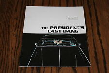 THE PRESIDENT'S LAST BANG promo book Park Chun-hee 2005 Cannes Film Festival