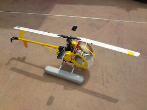HIROBO SHUTTLE ZX RC HELICOPTER Century Schweizer 300 Body Kit With Floats