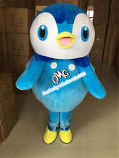 Hallowen Pokemon Go Piplup Penguin Mascot Costume cosplay Fancy Dress kids NEW