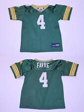 Youth Green Bay Packers Bret Favre M (5/6) Vintage Jersey Adidas (Green) Jersey