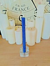 "BEESWAX CANDLES 8"" PURPLE. HANDMADE IN THE UK. FREE DELIVERY"