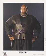 VISCERA Signed WWE Promo 8x10 Photo