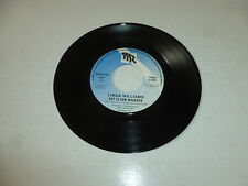 "LINDA WILLIAMS - Het Is Een Wonder - Belgium 7"" Juke Box Vinyl Single"