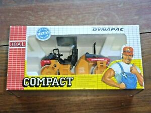 RARE Joal Compact Dynapac CC232 Die-Cast Roller 1/35 Scale Mint In Box, REF.-199