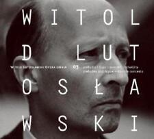 CD LUTOSŁAWSKI / LUTOSLAWSKI Preludes and Fugue Double Concerto / Opera Omnia 3