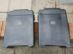 motorcycle panniers, used, Royal Enfield 500