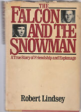 The Falcon and the Snowman by Robert Lindsey (1979, Hardcover)