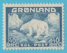 Greenland 8 Unused No Gum No Faults