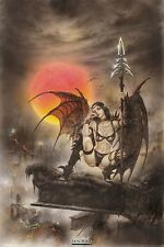 "LUIS ROYO POSTER ""TINKERBELL"" LICENSED ""BRAND NEW"""