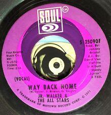Jr. Walker & The All Stars 45 Way Back Home Killer Soul Vocal Instro Glossy M-