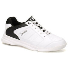 Dexter Ricky IV White Black Men's Bowling Shoes Choose Your Size Fast Ship