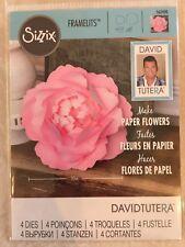 Sizzix Framelits Dies Large Peony 4 Dies By David Tutera 562400 New