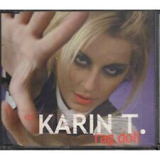 Karin T ‎‎‎Cd'S Singolo Rag Doll / Livin' In A Movie / Ice Records 8019991760062