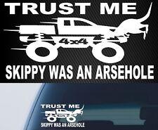 Skippy Here SKIP Decal Car Bullbar Kangaroo 4X4 DECAL